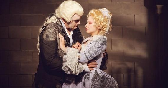 Александр Балуев, Мария Иващенко, спектакль «Территория страсти»