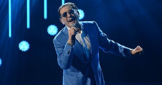 Sänger Grigory Leps in Italien 2019-6
