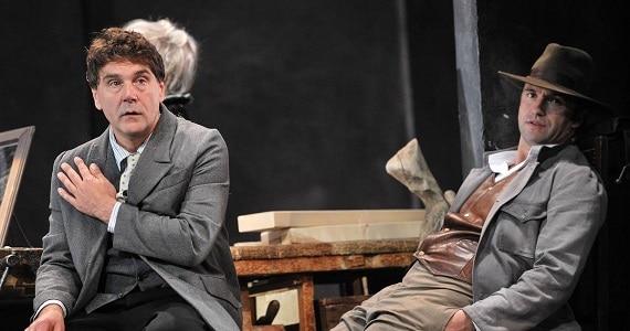 "Szene 1 aus dem Theaterstück ""Onkel Wanja"" des Theater Vakhtangov in Deutschland"