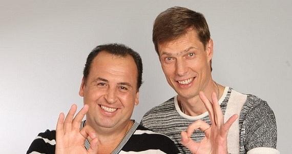 """Große Neujahrstournee des humorvollen Duos """"Kroliki"""" in Deutschland 2020, Kaufen Sie ein Konzertticket auf der Website der Artist Production Eventagentur"""