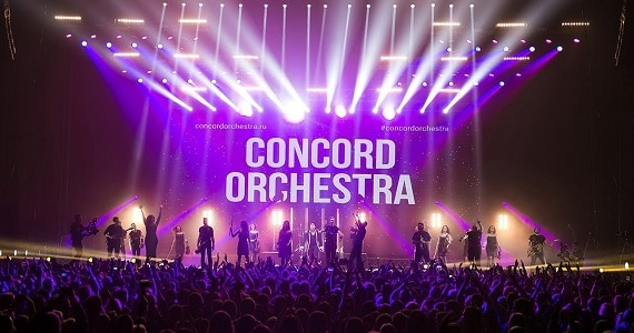 "Songs von Kult-Rockbands wie Nirvana, Muse, Queen, The Beatles und anderen im Programm ""Symphonic Rock Hits"" des einzigartigen Dance Symphony Concord Orchestra"