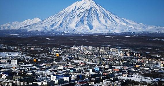 """Kamtschatka, eine Halbinsel im Nordosten Eurasiens, im filmischen Meisterwerk """"Russland von oben"""", Deutschlandpremiere im Februar 2020, Tickets auf der Website"""