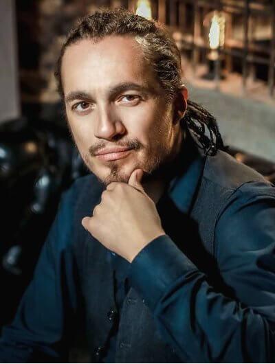 Der russische Rapper Andrey Leonidovich Pasechny, Mitglied der Rap-Band Kasta unter dem Pseudonym Hamil