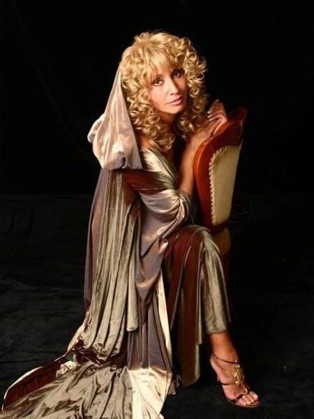 Sängerin Irina Allegrova, Foto 3
