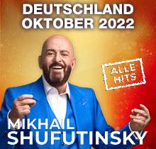 Mikhail Shufutinsky in Deutschland