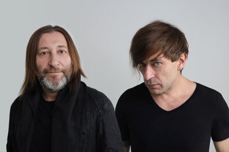 Schura und Ljowa - Egor Bortnik und Alexander Uman, Gründers und Leiters der Rockband Bi-2 kommen zum Kislorod Live Festival in La Nucia