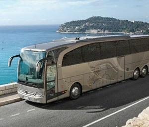 Sie können Kislorod Live in Benidorm, Spanien mit dem Shuttle-Bus erreichen