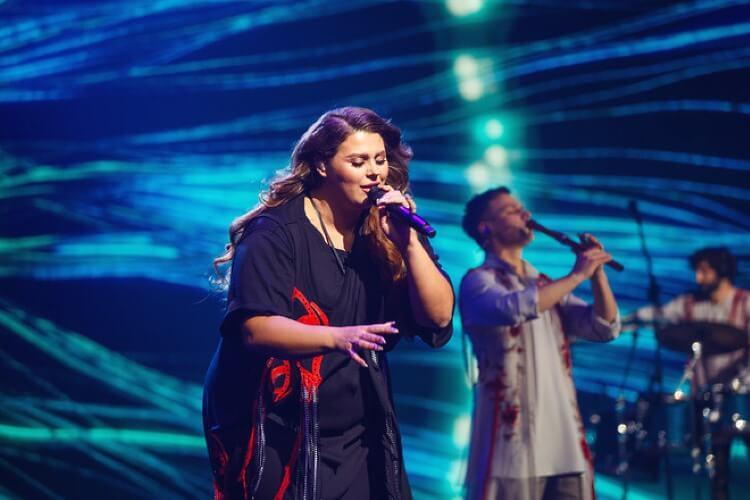 Bei den Konzerten der KAZKA Band bewundert das Publikum die melodische und emotionale Natur der ukrainischen Musik