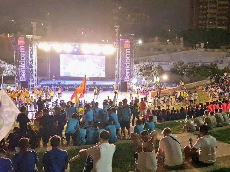 Veranstaltungsort des Kislorod Live Festivals in Spanien - Auditorio Julio Iglesias im L'aguiera Park in Benidorm, Foto 5