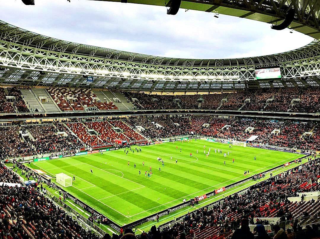 Матч Россия - Бразилия