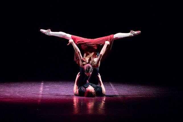 Сцена 3 из балета «Красная Жизель»