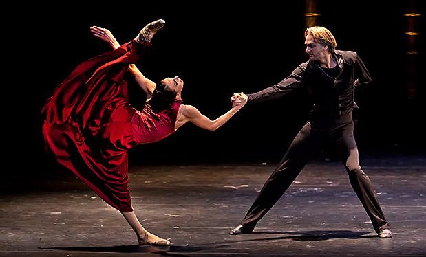 Сцена 1 из балета «Красная Жизель»
