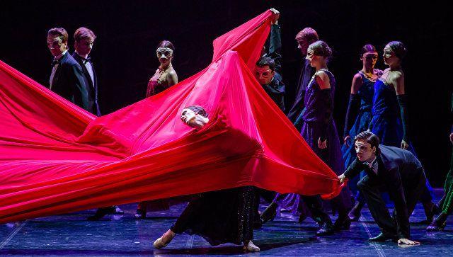 Сцена 4 из балета «Красная Жизель»