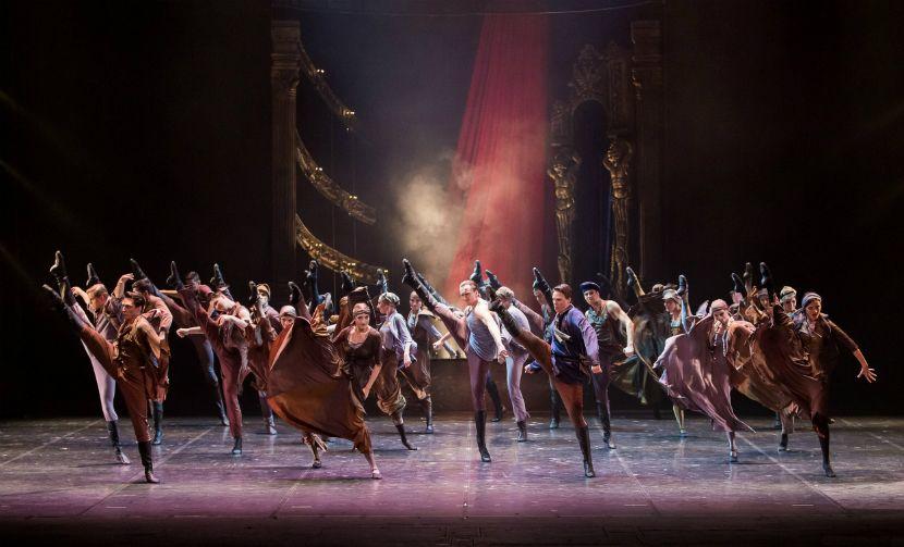 Сцена 2 из балета «Красная Жизель»