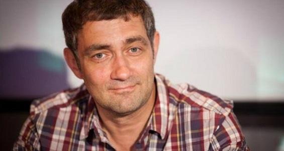 Актер Константин Юшкевич, участник спектакля «Валентинов день»