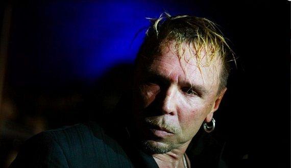 Гарик Сукачев, звезда русского рока на концертах в Германии