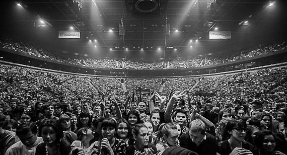 Культовая группа «Сплин» на концерте в Хельсинки