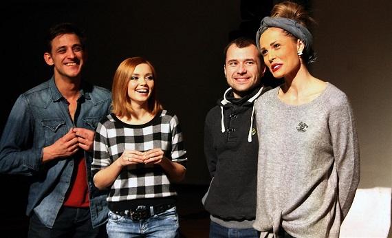 Актеры спектакля «Кухня на выезде»