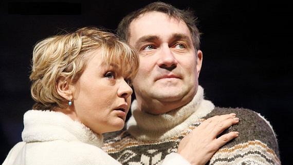 Константин Юшкевич и Юлия Меньшова, спектакль «Валентинов день»