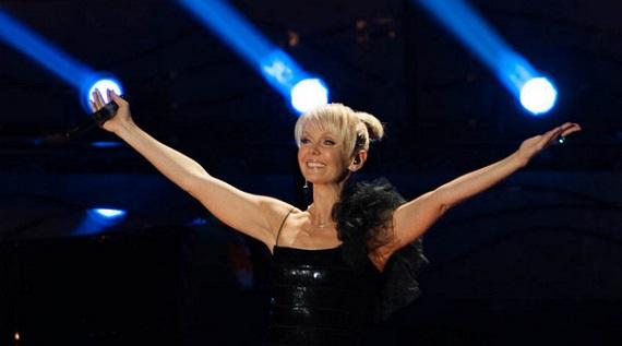 Российская певица Валерия в Европе.