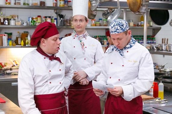 Эпизод из российского телесериала «Кухня»