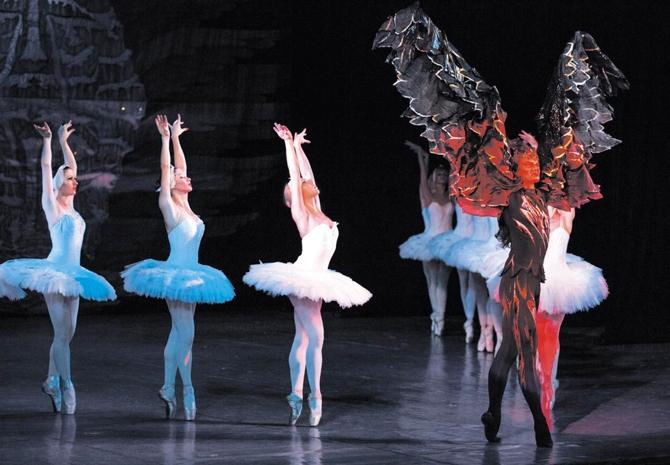 «Лебединое озеро» Чайковского, гастроли в Германии