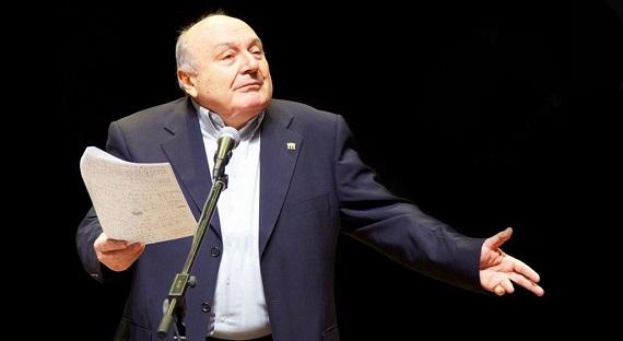 Сатирик, писатель и артист Михаил Жванецкий