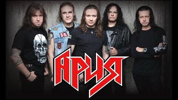 Рок-группа «Ария» выступит на концертах в Берлине и Кельне в октябре 2019 года