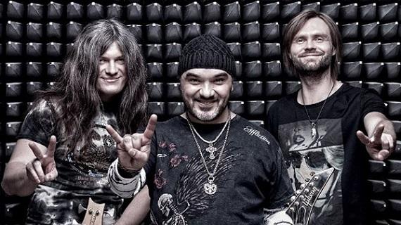 Рок-группа «Черный Кофе» и ее лидер Дмитрий Варшавский в Германии