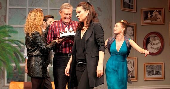 Актеры спектакля «Невеста напрокат», премьера в Германии