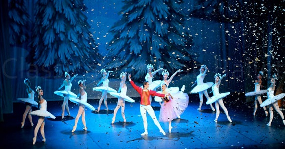 С 6 декабря 2020 года по 10 января 2021 года зрители в Германии могут посмотреть балет Чайковского «Щелкунчик» в исполнении Классического Русского балета Москвы