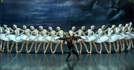Лебединое озеро Петра Чайковского, гастроли в Германии Классического Русского балета Москвы
