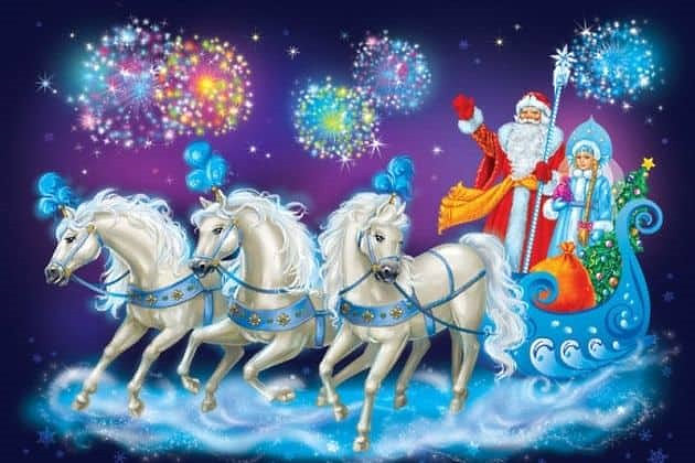 Агентство Artist Production поздравляет с Новым годом и предлагает детям и взрослым посетить веселый праздник от Международного театра юного зрителя