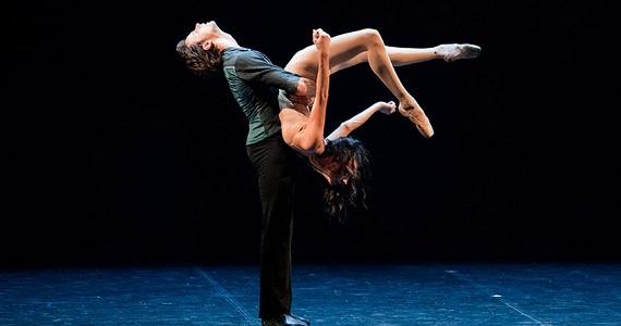 Сцена 1 из балета «Анна Каренина» в постановке театра Бориса Эйфмана
