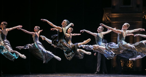 Сцена 3 из балета «Анна Каренина» в постановке театра Бориса Эйфмана