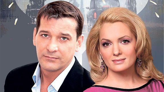 Российские актеры театра и кино Мария Порошина и Ярослав Бойко
