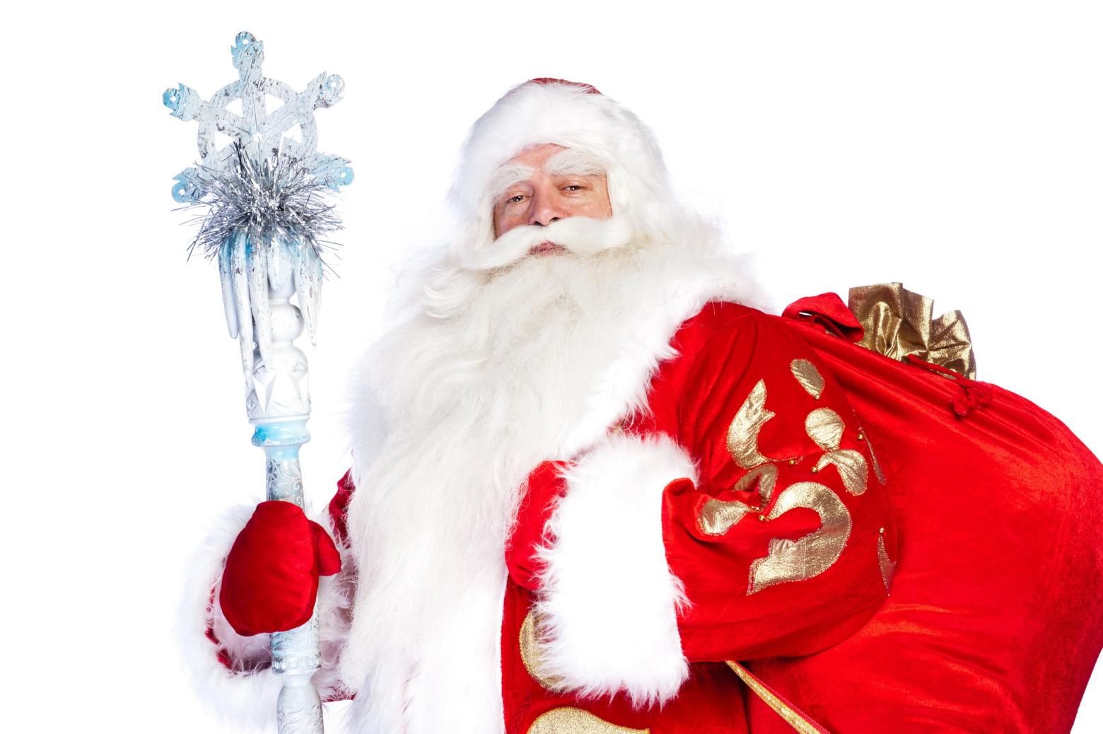 Дед Мороз, волшебная атмосфера и подарки для гостей программы «Новый год 2020 на русский лад» в Германии 31 декабря 2019 года