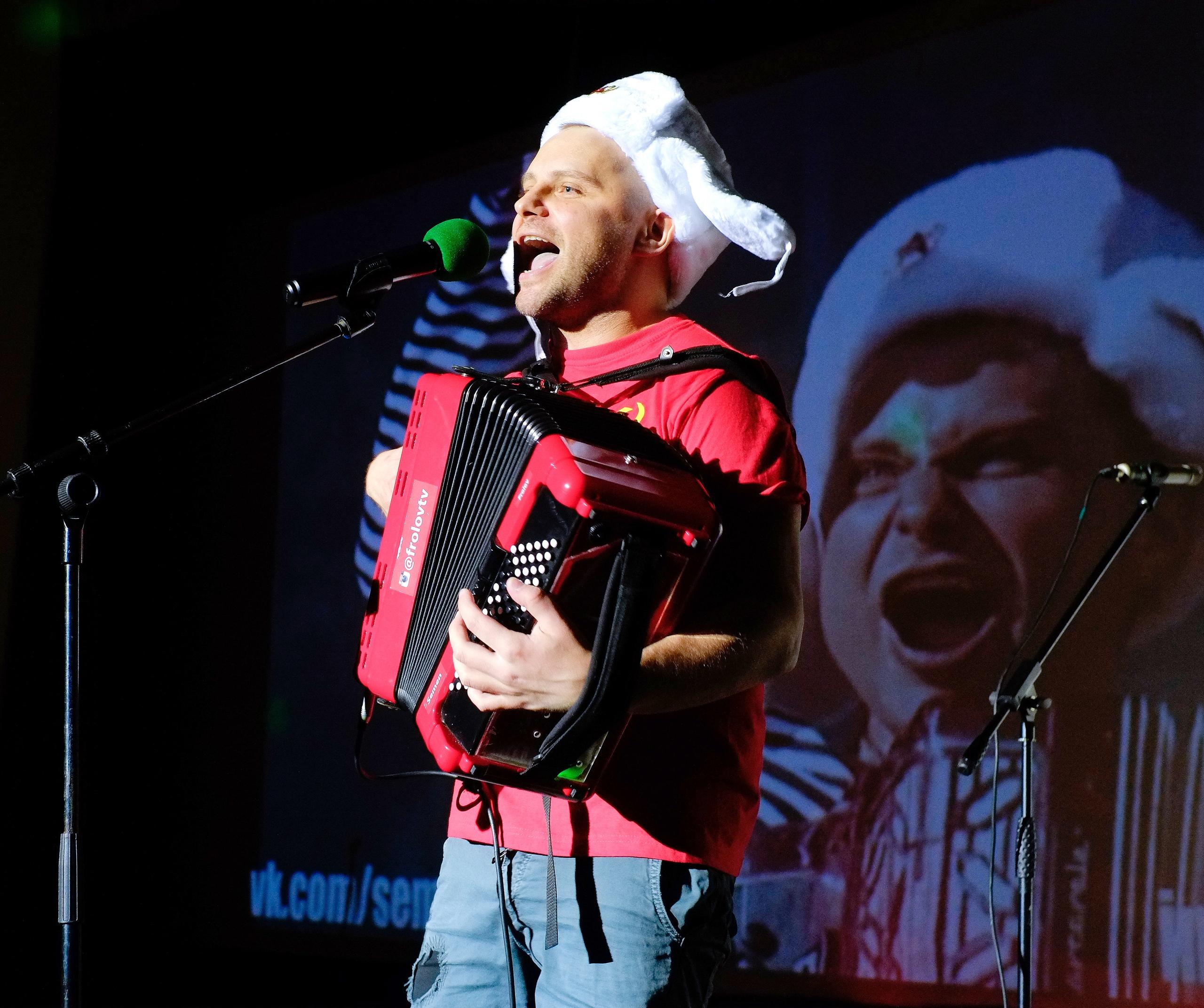 Семен Фролов, специальный гость новогодней программы в Германии от агентства Artist Production, Новый год 2020 на русский лад