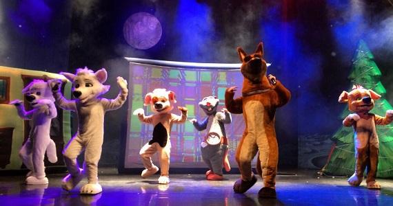 Премьера в Германии семейного шоу про знаменитых собак, Белка и Стрелка летят в космос в мюзикле Лунные приключения в ноябре 2020 года