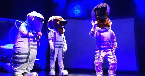 Белка и Стрелка в компании своих друзей в премьере семейного космического шоу Лунные приключения в Германии, билеты на сайте Artist Production