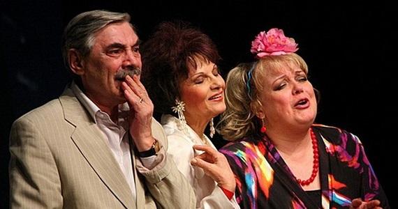 Популярные актеры театра и кино представляют в Германии спектакль «Заложники любви», лиричную комедию по пьесе комедиографа Натальи Демчик