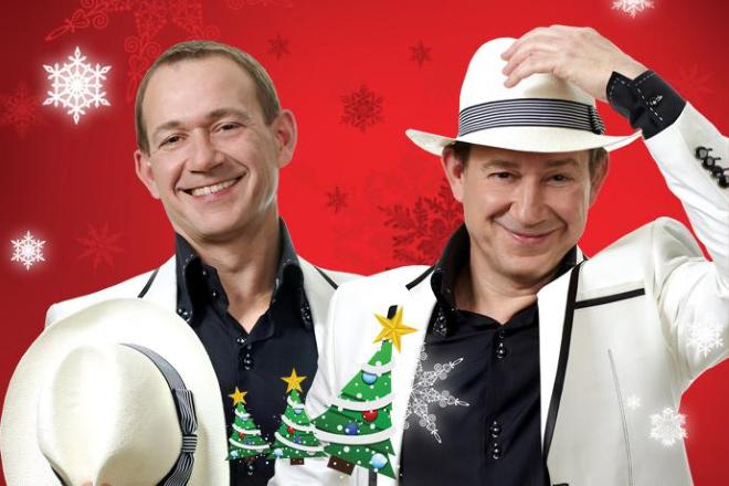 Популярные юмористы братья Пономаренко, ведущие вечера «Новогодние Рождественские встречи» в Германии, купить билет на сайте агентства Artist Production