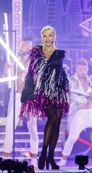Певица Кристина Орбакайте, участница международного музыкального фестиваля Жара