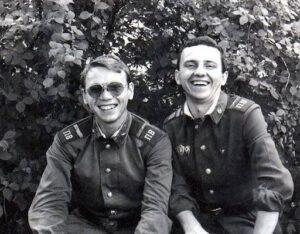 Владимир Шахрин и Владимир Бегунов, служба в погранвойсках