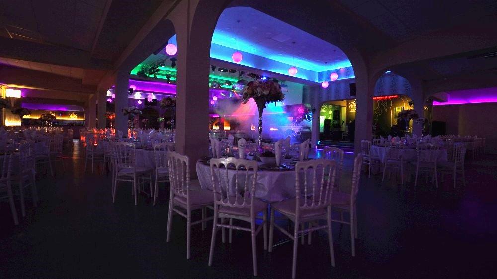 Фото 3, интерьер зала торжеств «Festsaal» в Rödermark для проведения вечеринки «Новый год 2021 в стиле советского кино» 31 декабря 2020 года
