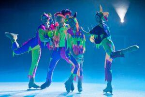 Цирк на льду Триумф наряду с технологическими приемами использует и традиционные номера – жонглирование, эквилибристику и акробатику