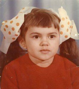 Фотография Ирины Круг в детстве