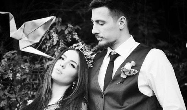 Певица Maruv и ее муж Александр Корсун, PR-менеджер проекта MARUV
