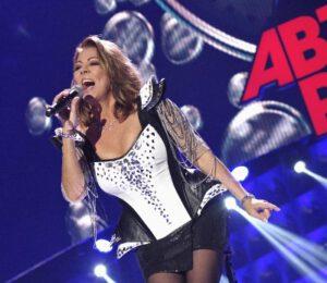 Немецкая поп-певица Сандра, бывшая вокалистка диско-группы Arabesque, участница фестиваля «Дискотека 80-х»