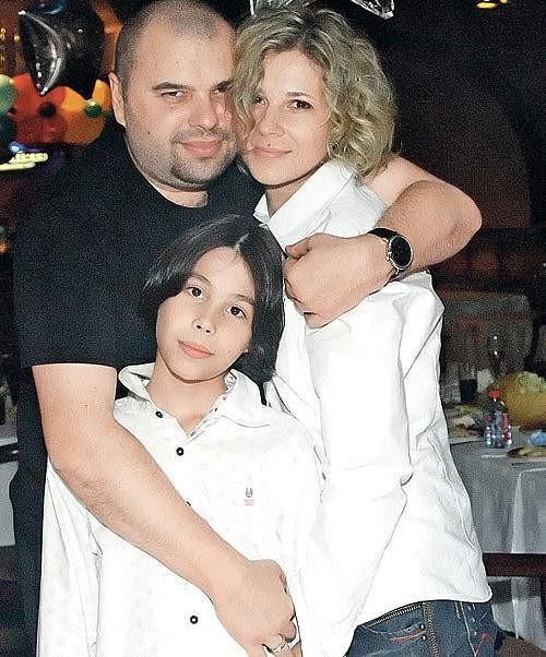 Музыкант и продюсер Максим Фадеев со своей семьей – женой Натальей и сыном Саввой